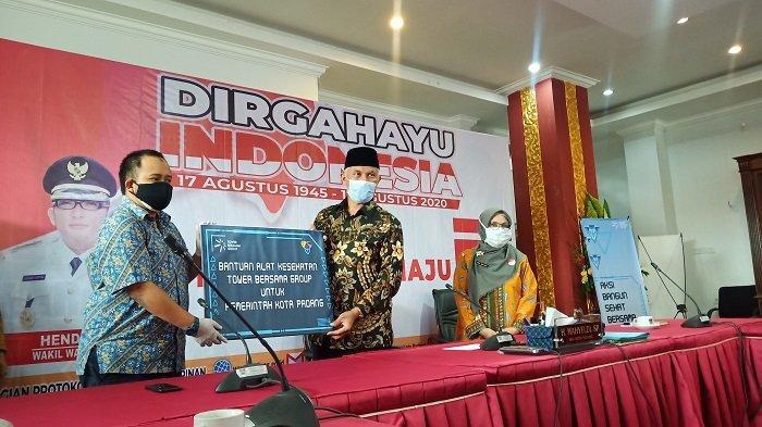 Pemko Padang Terima Bantuan Alat Kesehatan, Mahyeldi: Tenaga Medis Lapangan Makin Terlindungi