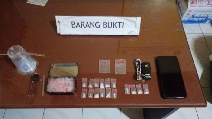 Polisi Sita 16 Paket Narkoba dari Tangan Bengbeng