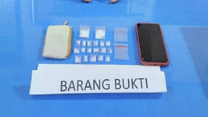 Fajri Ditangkap Polisi di Pinggir Jalan, Polres Tanah Datar Temukan 19 Paket Sabu