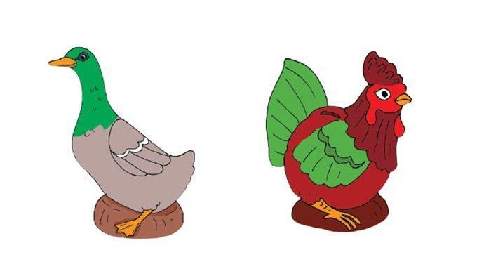bebek dan ayam