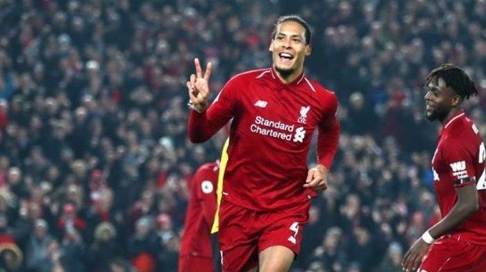 Bek tengah Liverpool FC, Virgil van Dijk