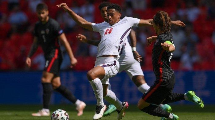 UPDATE Inggris vs Kroasia - Jude Bellingham Ukir Rekor Termuda di Euro, Lampaui Jetro Willems