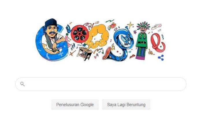 Mengapa Benyamin Sueb di Tampilan Google Doodle Hari Ini? Padahal Bukan Tanggal Lahir atau Wafat