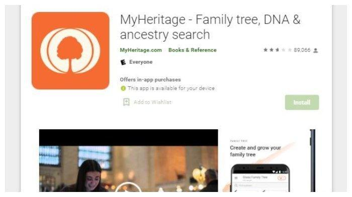 Berikut 5 Tahapan Mengedit Foto Menggunakan Aplikasi MyHeritage, Buat Akun Terlebih Dahulu