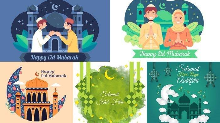 Ucapan Selamat Idul Fitri dan Saling Bermaaf-maafan, Ada 25 Koleksi Berbahasa Indonesia dan Jawa