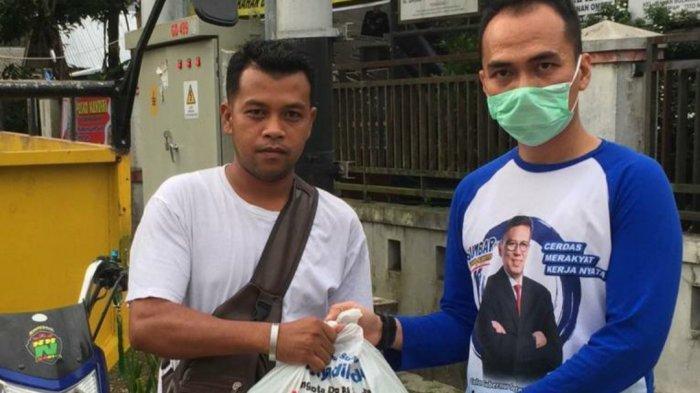 Berkat Bantuan Sembako Mulyadi, Ratusan Masyarakat Bukittinggi dan Agam Terbantu