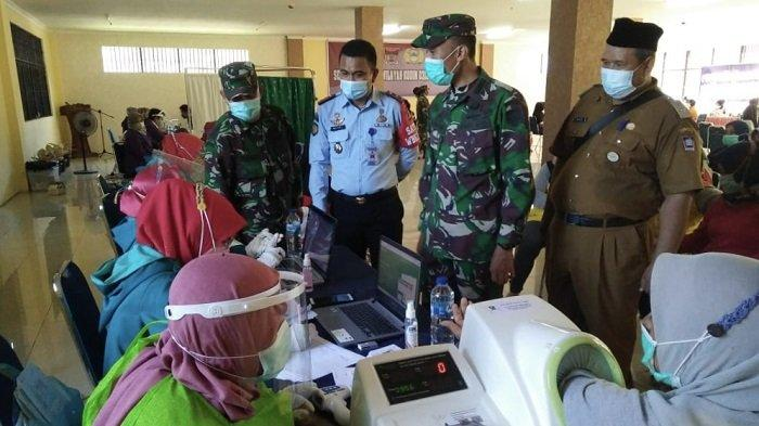 900 Warga Binaan Rutan Kelas IIB Padang Divaksin, Petugas Berharap Selesai Dalam Sehari
