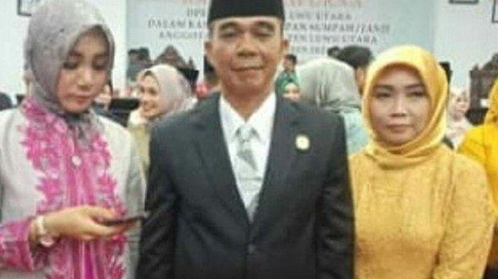 Anggota DPRD Ini Ajak 3 dari 4 Istrinya saat Pelantikan, Selama 3 Periode Selalu Terpilih