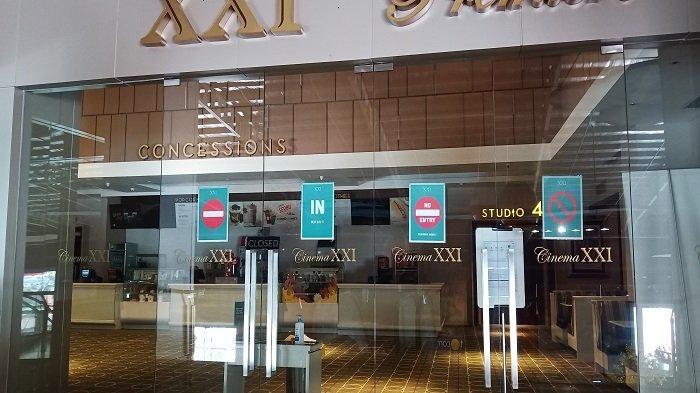 Sempat Dibuka, Bioskop XXI Transmart Padang Kembali Tidak Beroperasi
