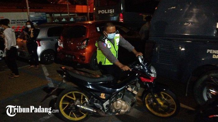 136 Motor di Padang Terjaring Patroli, Kapolresta: Kendaraan Knalpot Bising Akan Ditahan Sementara