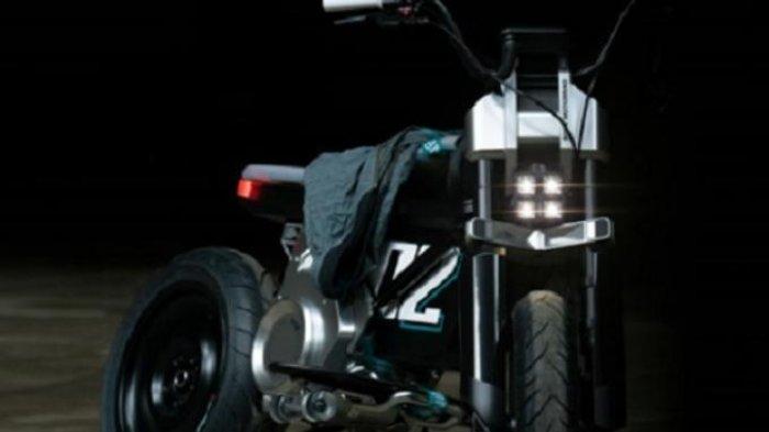 E-Scooter Hasil Rancangan BMW Motorrad, Sepeda Motor Listrik Berdesain Futuristik nan Elegan
