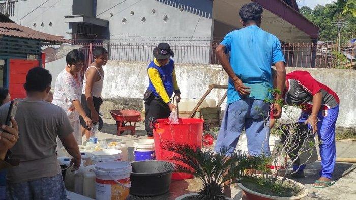 Kekeringan di Padang Kian Meluas, Melanda 7 Kelurahan, 250 KK Terdampak
