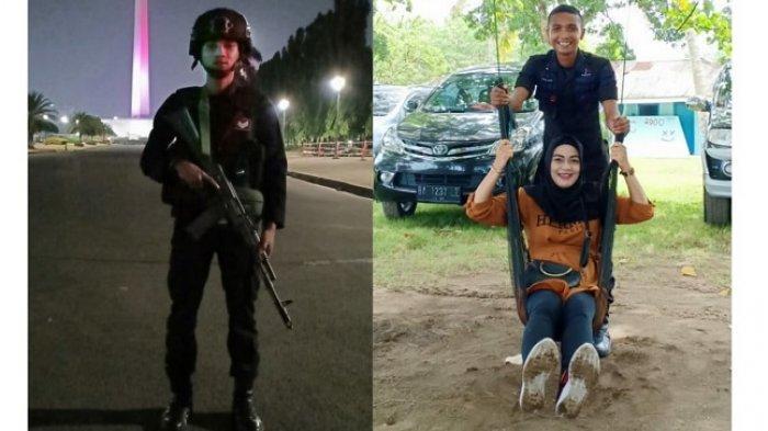 Briptu Adri Tak Dampingi Istri Melahirkan di Padang Demi Amankan Penetapan Hasil Pemilu di Jakarta