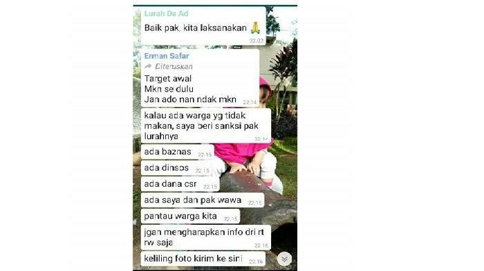 Viral Chat Walikota Bukittinggi Minta Lurah Keliling Pakai Motor: Tanyakan Kondisi Warga Miskin