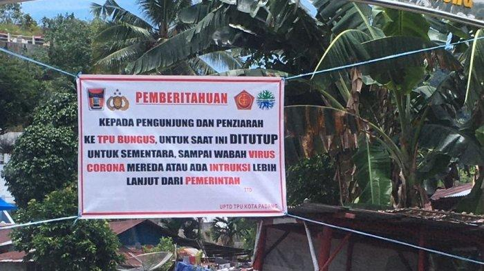 Terkait Makam Khusus Covid-19 di TPU Bungus Padang, DLH Sebut 9 Makam Dibongkar Ahli Waris