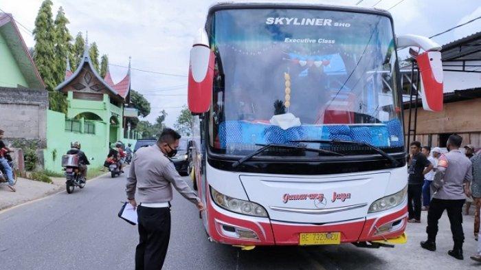 KRONOLOGI Bus Gumarang Jaya Tabrak 5 Pelajar SD di Tanah Datar, Gegara Bus ANS Rem Mendadak