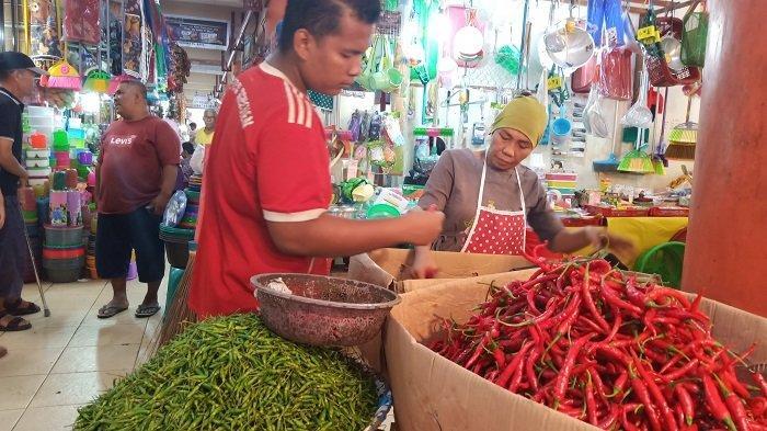 Harga Kebutuhan Pokok Hari Ini di Padang, Cabai Merah Tembus 40 Ribu/kg, Harga Cabai Rawit Turun