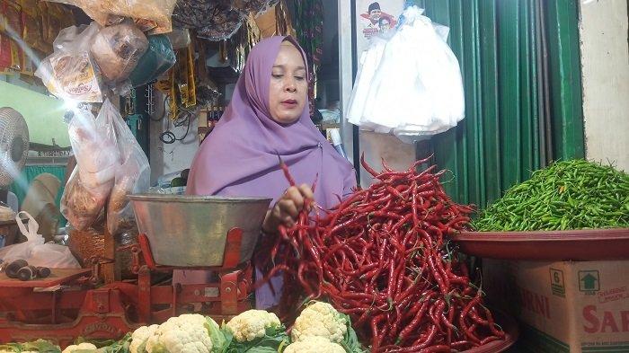 Harga Cabai Merah di Padang Merangkak Naik, Cabai Rawit Sudah Sentuh Rp 68 Ribu/kg