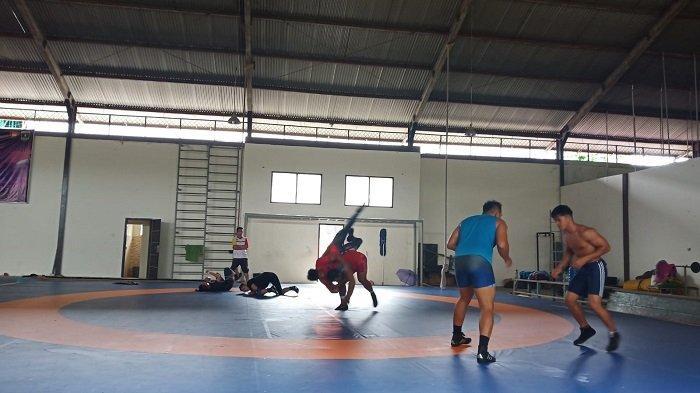 Cabang Olahraga Gulat Sumbar Targetkan 2 Medali Emas Pada PON XX Papua 2021