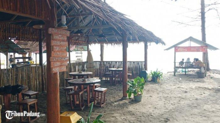 Cafe Kopi Basamo di Jalan Uncle Jack Padang, Nongkrong Sambil Nikmati Indahnya Pantai Pasir Jambak