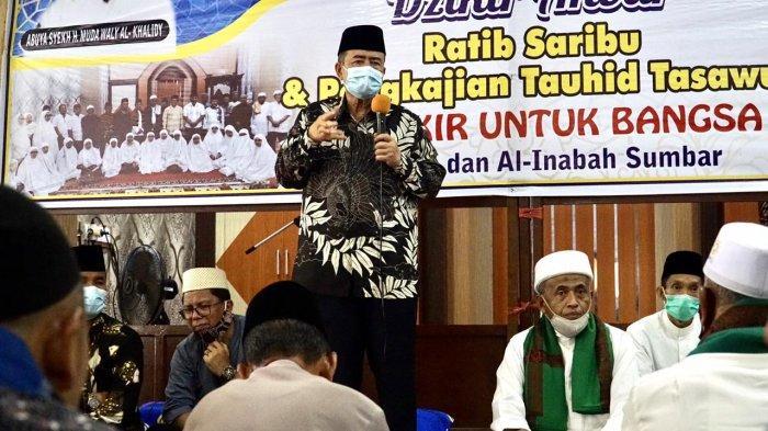 Momentum Maulid Nabi, Nasrul Abit Ajak Anak Muda Sumbar Rajin Datangi Masjid