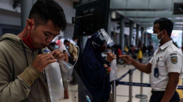 Pantangan Sebelum Tes Covid-19 Pakai GeNose C19 di Bandara Internasional Minangkabau