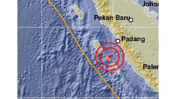 Gempa Bumi Guncang Sumatera Barat hingga 9 Kali Sepekan Terakhir, 4 Kali Terjadi di Mentawai