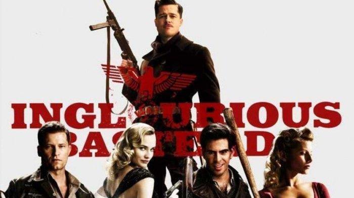 Cara Download Film Inglourius Basterds Subtitle Bahasa Indonesia di HP, Diperankan Oleh Brad Pitt