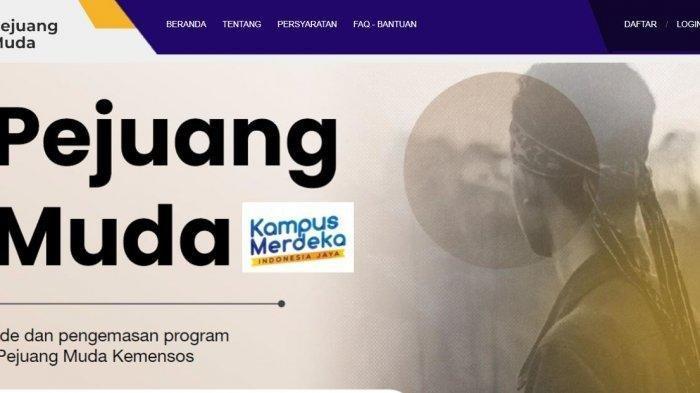 Berikut Ini Tata Cara PendaftaranProgram Pejuang Muda Kunjungi Lamanpejuangmuda.kemensos.go.id
