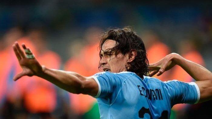 STARTING XI Uruguay vs Chile -  Kerahkan Cavani, Suarez, dan Vidal hingga Laga Bertabur Bintang