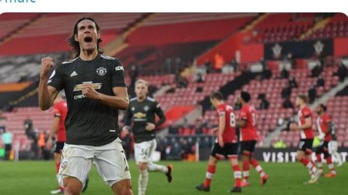 Pemain Buangan AC Milan Masuk Radar Man United, Sinyal Edinson Cavani Selesai di Old Trafford?