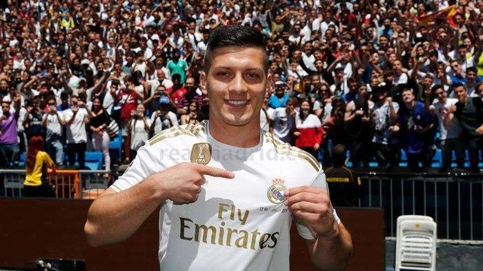 Giliran Real Madrid Didekati AC Milan, Berharap Luka Jovic Dipinjamkan untuk Perbaiki Lini Depan