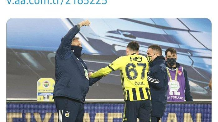 Mesut Oezil Alami Nasib Tak Mujur di Fenerbahce, Gagal Cetak Gol dan Didera Cedera Ligamen