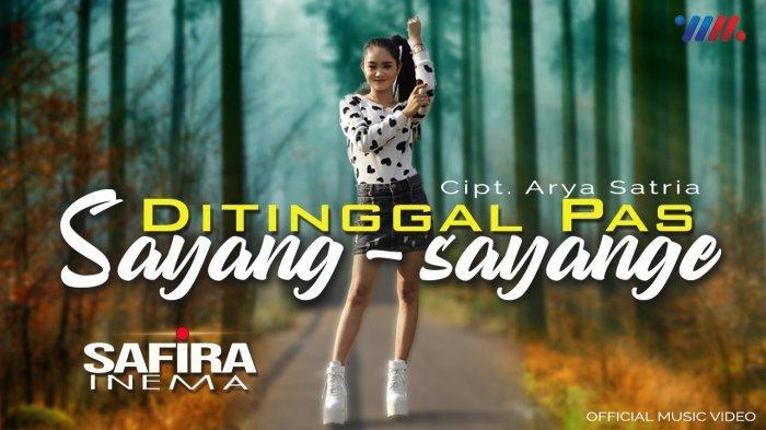 Chord Ditinggal Pas Sayang Sayange dari Safira Inema, Cek Link Download Lagu MP3