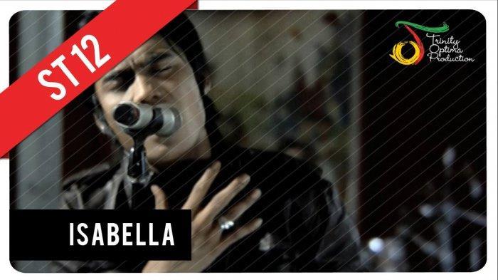 Chord Kunci Gitar Isabella ST 12 - Download MP3 Lirik Lagu: Dia Isabella Lambang Cinta dan Prahara