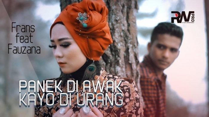Download Lagu Panek di Awak Kayo di Urang,Frans Feat Fauzana - Beserta Chord Gitar