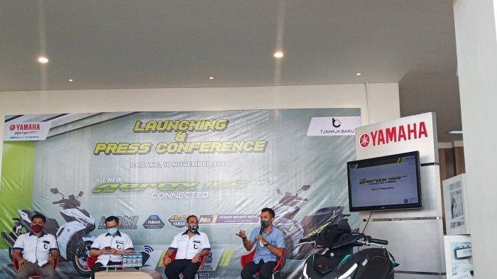 Promo All New Aerox 155 Connected di Padang, Uang Muka Lebih Murah, Hanya 7 Persen