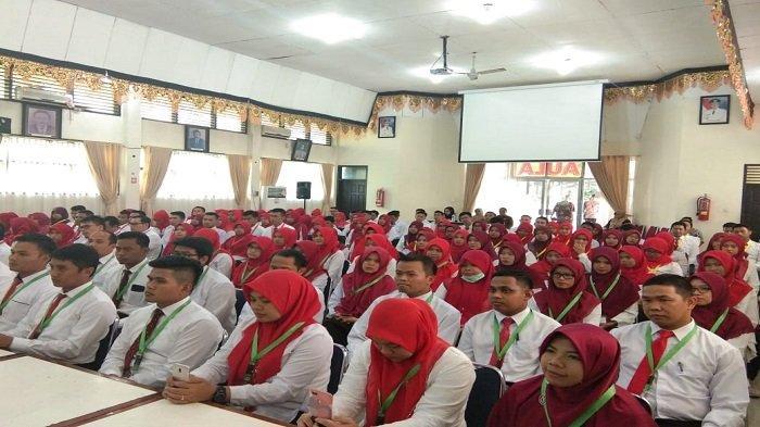 Ini Pesan Gubernur Irwan Prayitno Kepada 110 CPNS yang Ikuti Pelatihan Dasar