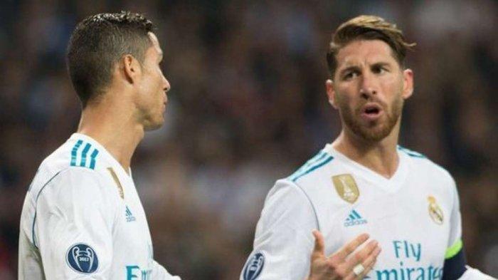 Jelang El Clasico Barcelona vs Real Madrid di Camp Nou, Sergio Ramos Bangkit dari Cedera Lutut