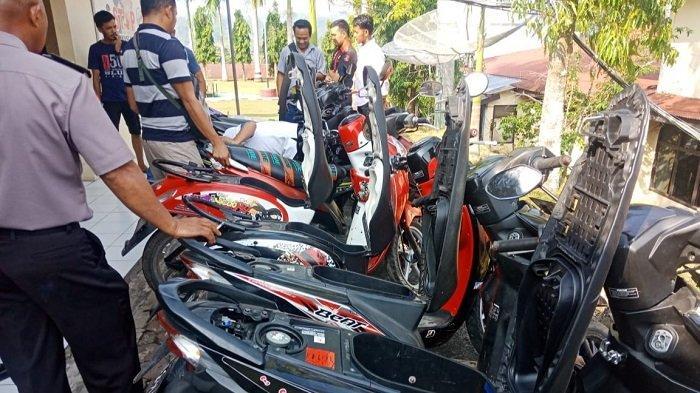 Ayo! Lekas Cek Motor Hasil Curanmor yang Hilang di Wilayah Hukum Polres Tanah Datar