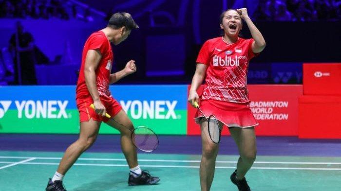 Impact Arena Bangkok Jadi Saksi Keperkasaan Praveen/Melati, Ungguli Ganda Campuran Thailand