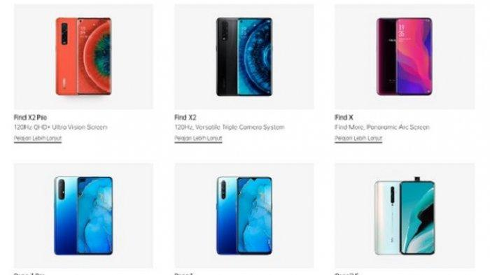UPDATE Harga HP Oppo Terbaru September 2020, Oppo A5, Oppo A53, Oppo Reno 4 hingga Oppo A31