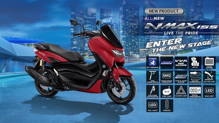 Daftar Harga Motor Matic Yamaha Terbaru Awal Juli 2020, NMAX Mulai Rp 29 Jutaan, Lexi Rp 21 Jutaan