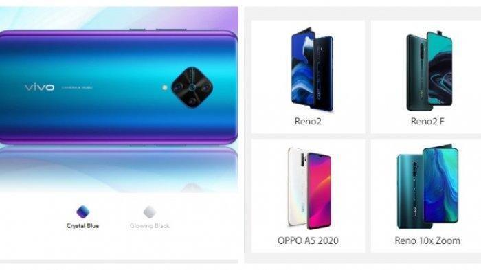 Lihat Harga serta Spesifikasi Smartphone Samsung,Vivo,Xiaomi dan Oppo di Desember 2019