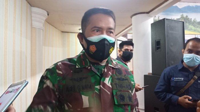 Danrem 032 Brigjen TNI Arief Gajah Mada Orang Pertama di Sumbar yang Divaksin: Tidak Perlu Ragu