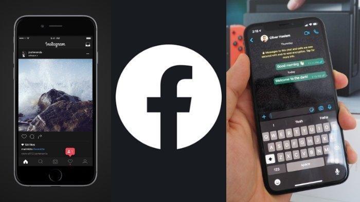 Ilustrasi : Tribunnews.com rangkum cara mengaktifkan fitur dark mode untuk Instagram, WhatsApp hingga Facebook dari berbagai sumber