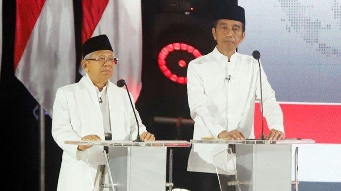 Hasil Real Count KPU Pilpres 2019 Senin 6 Mei 2019, Jokowi Ungguli Prabowo, Selisih 13 Juta Suara