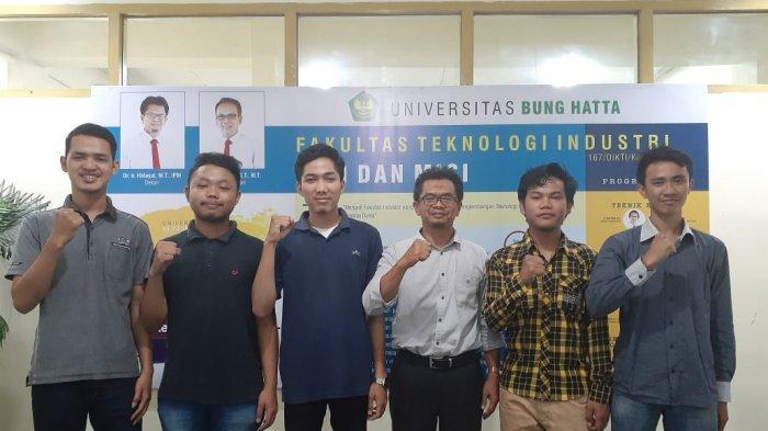 5 Mahasiswa FTI UBH Timba Pengalaman di Perusahaan Produksi Onderdil Alat-alat Otomotif