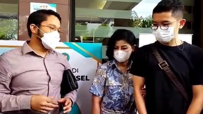 Desiree Tarigan Jalani Pemeriksaan Kasus Penyerobotan Tanah Ibunya oleh Hotma Sitompul