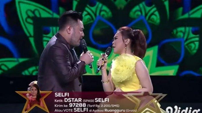 Di D'Star Indosiar, Nassar Tanya Perasaan Selfi ke Dirinya: Kamu Sebenarnya Suka Gak Sama Saya?